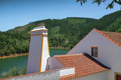 Photograph - Dornes Village Landscape by Carlos Caetano