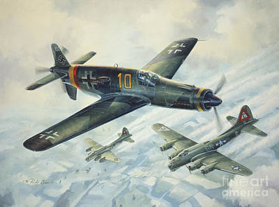 Wwii Drawing - Dornier Do335 Pfeil Arrow by Randy Green