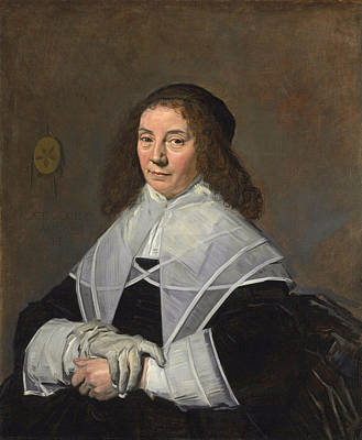 Painting - Dorothea Berck Wife Of Joseph Coymans by Frans Hals