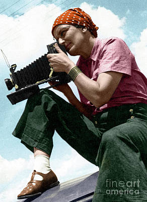 Photograph - Dorothea Lange by Granger