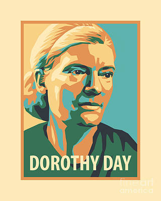 Painting - Dorothy Day, 1938 - Jldyd by Julie Lonneman