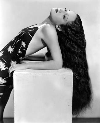 Publicity Shot Photograph - Dorothy Lamour, Paramount Pictures, 1936 by Everett