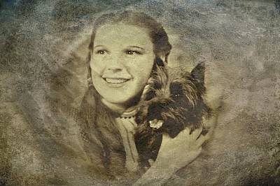 Wizard Of Oz Digital Art - Dorothy by Movie Poster Prints