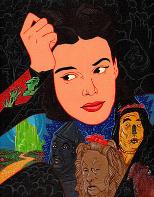 Judy Garland Painting - Dorothy Of Oz  by Jason  Wright