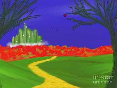 Dorothy's Dream Art Print by Roxy Riou