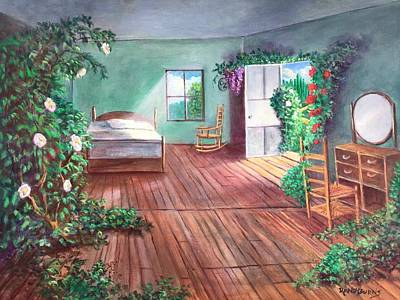 Painting - Dorothys House After The Passage Of Time by Randy Burns