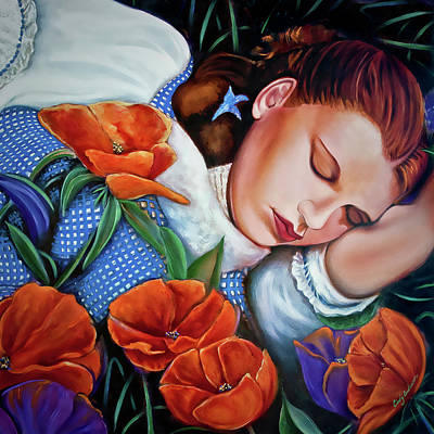 Digital Art - Dorothy's Sleep by Cindy Anderson