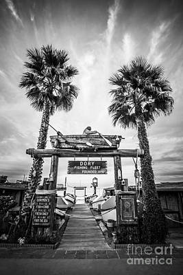 Dory Photograph - Dory Fleet Market Newport Beach Photo by Paul Velgos