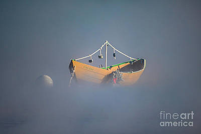 Photograph - Dory In The Mist by Benjamin Williamson