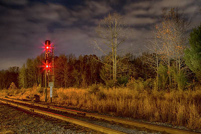 Wall Art - Photograph - Doswell Signal by Cliff Middlebrook