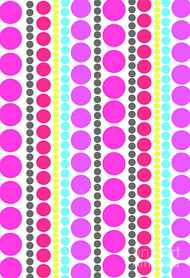 Dots And Lines Digital Art - Dots by Louisa Knight