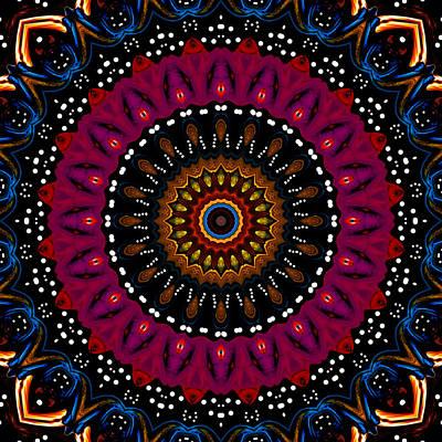 Dotted Wishes No. 5 Kaleidoscope Art Print by Joy McKenzie