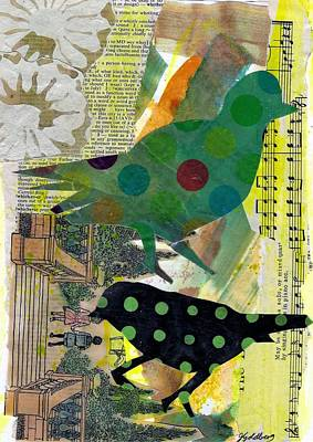 Mixed Media - Dotty About You by Jillian Goldberg