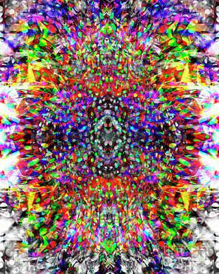 Digital Art - Dotty Hyppo 2 by Edmund Nagele