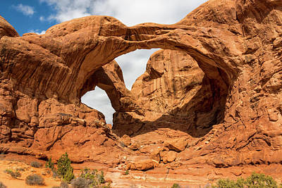 Photograph - Double Arch - Arches National Park Utah by Brian Harig