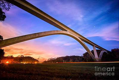 Franklin Tennessee Photograph - Double Arch Bridge by Desmond Lake
