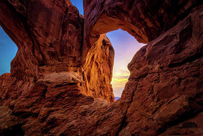 Photograph - Double Arch by Dave Koch