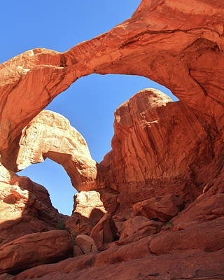 Photograph - Double Arch  by Roupen  Baker