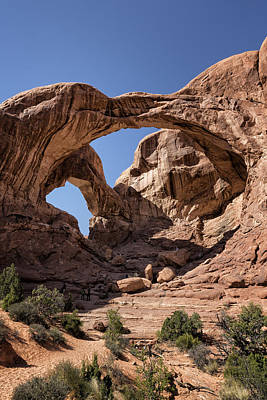 Photograph - Double Arch - Vertical by Belinda Greb