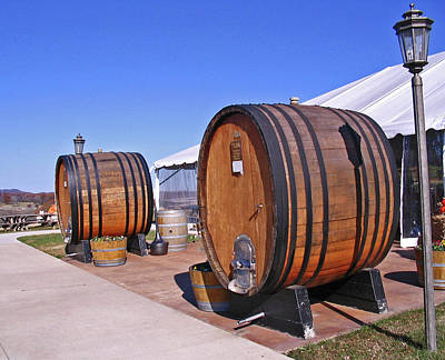 Franklin Tennessee Photograph - Double Barrels by Marian Bell