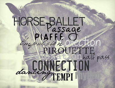 Photograph - Double Bridle Quote by JAMART Photography