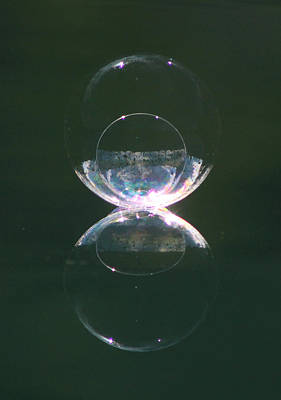 Photograph - Double Bubble Infinity by Cathie Douglas