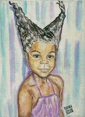 Painting - Double Conehead by Brenda Dulan Moore