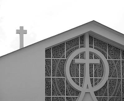 Photograph - Double Cross Church by Rob Hans