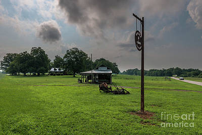 Photograph - Double D Farm In Anderson South Carolina by Dale Powell