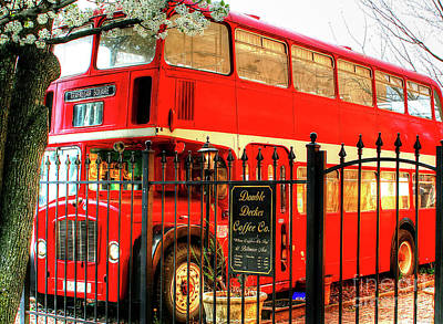 Photograph - Double Decker by LaRoque Photography