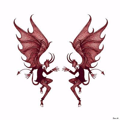 Double Diablo Art Print