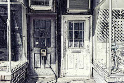 Photograph - Double Doors Closed by Sharon Popek
