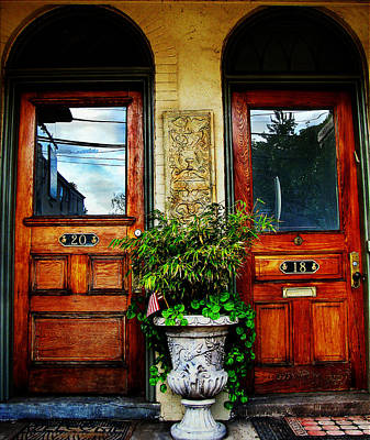 Photograph - Double Doors by Colleen Kammerer