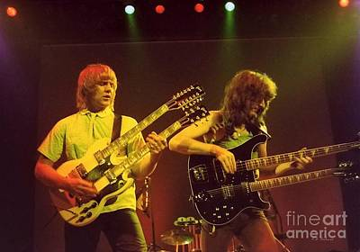 Alex Lifeson Photograph - Double Double by Kevin Bohner