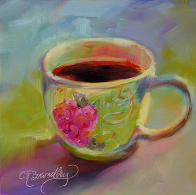 Painting - Double Espresso, Please by Chris Brandley