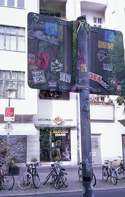 Photograph - Double Exposure Street Sign by Nacho Vega