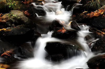 Photograph - Starvation Creek Double Exposure by Ken Dietz