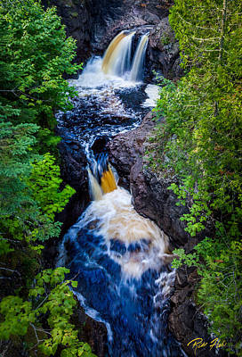 Photograph - Double Falls by Rikk Flohr