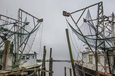Photograph - Double Fishing Boats by John McGraw