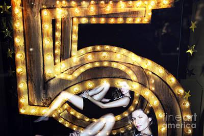 Gisele Bundchen Photograph - Double Gisele by John Rizzuto