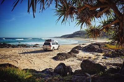 Photograph - Double Island Point 4wd Beach Driving by Keiran Lusk