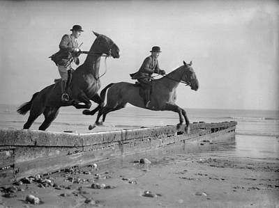 Eastbourne Photograph - Double Jump by E Phillips