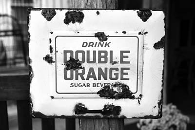 Photograph - Double Orange Sugar Beverage by David Lee Thompson