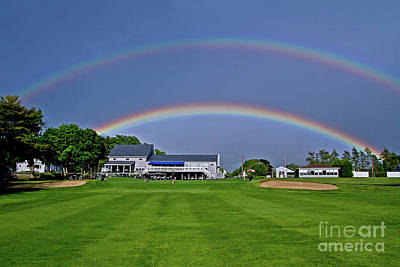 Photograph - Double Rainbow by Butch Lombardi
