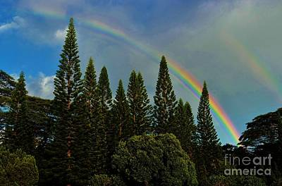 Photograph - Double Rainbow by Craig Wood
