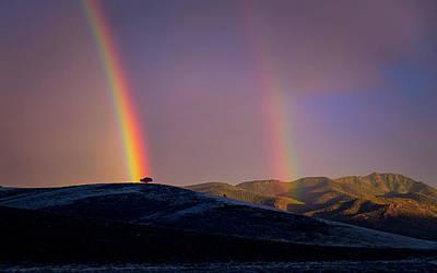 Photograph - Double Rainbow by Dave Koch