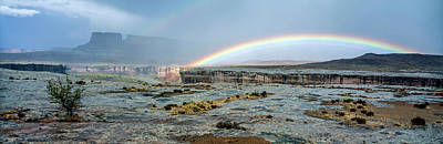 Photograph - Double Rainbow by Gary Shepard