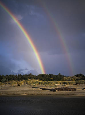 Photograph - Double Rainbow by Robert Potts
