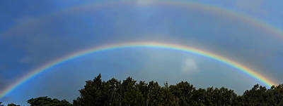 Photograph - Double Rainbows by Pamela Walton