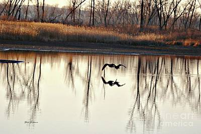 Photograph - Double Reflection by Yumi Johnson